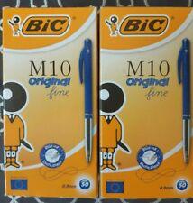 150 BIC M10 Original Stylos-Bille Rétractables + 12 Bic Fun 4 couleurs.