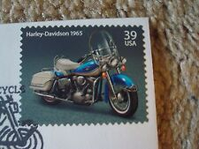 HARLEY-DAVIDSON / BUELL One Day Limited Edition Stamp Cache August 8 2006