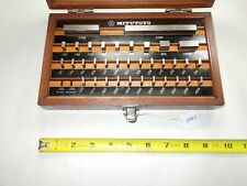 Mitutoyo 516 914 35 Piece Machinists Inspection Gage Block Set Japan