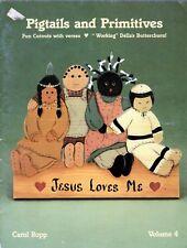 Tole Painting Pigtails & Primitives Volume 4 by Carol Ropp Jesus Love Me