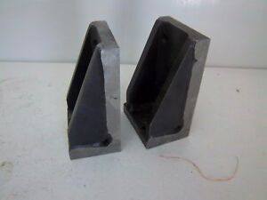 """USED STEEL PRECISION ANGLE PLATE 6"""" X 2"""" X 3"""""""