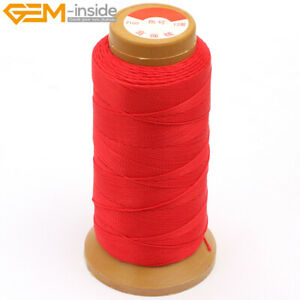 230 Meters 210D 0.8mm Nylon Beading Cord Knotting Jewelry Making Sewing Thread