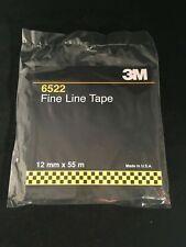 3M 06522 Fine Line Tape Roll 12mm x 55m