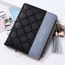 1PC Cute Wallet Women Coin Bag Leather Ladies Simple Bifold Small Handbag Purse