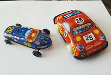 Tin Litho Friction Race Car No 26 STP made in Japan