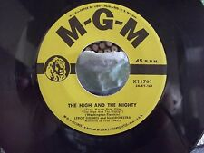 LEROY HOLMES LISA / THE HIGH AND THE MIGHTY ON MGM RECORDS YELLOW LABEL