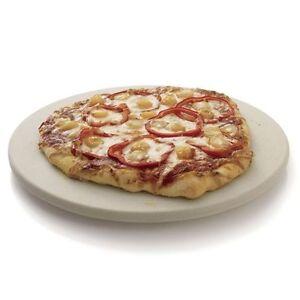"YNNI Universal 8"" Ceramic  Pizza Stone for 12""+ Kamado,BBQ,Grill TQAPP205"