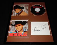 Tracy Byrd Signed Framed 11x14 CD & Photo Display