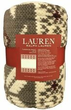 NWT Ralph Lauren Winter Lodge Throw Blanket 60 x 70