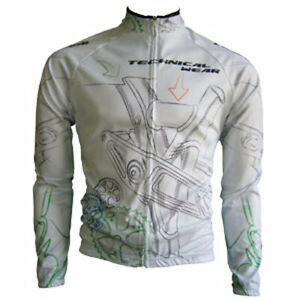 """Franklin Cycling Jersey / Technical Wear / UK size L(40-41""""chest) / Long sleeve"""