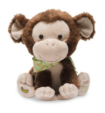 NEW Cuddle Barn My Monkey Marvin Animated Apples Bananas 2 Songs Game Plush