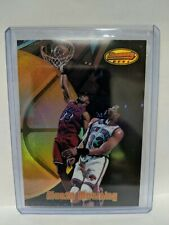 1997-98 Bowman's Best Refractor #39 Alonzo Mourning Miami Heat Basketball Card