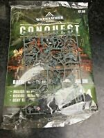 Warhammer 40k conquest magazine issue 34  new sealed with figures