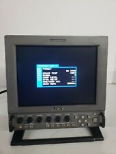Sony LMD-9020 Color LCD Portable Video Monitor with AC Adapter AC-LMD9