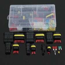 1-6Pin Way Car Electrical Wire Waterproof Connector Plug Terminal Kit Fuse Case