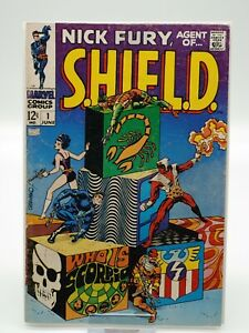 Nick Fury Agent of SHIELD #1 FREE SHIPPING 1st appearance of Scorpio