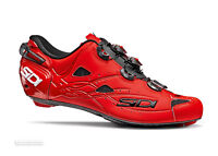 Sidi SHOT Carbon Road Cycling Shoes : MATTE RED
