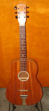 1950's - 1980's Riviera Parlor Guitar made in West Germany Mahogany Body.