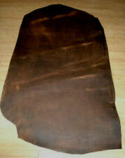 9//10oz Red Brown Veg Tan Water Buffalo Single Bend Belt Strap Leather-12-13.5ft