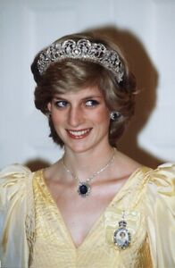 ROYALTY! INSPIRED BY PRINCESS DIANA MAGNIFICENT SAPPHIRE AND DIAMOND JEWELRY SET