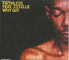 FAITHLESS w/ ESTELLE  Why Go w/2 RARE Redanka & Hoxton MIXES CD single SEALED