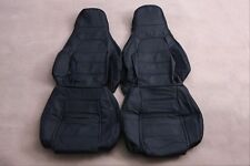 Custom Made 1989-1997 Miata NA6CE Real Leather Seat Covers Perforated Headrests