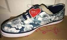 New Keds Taylor Swift CT TS Floral Deep Blue Women's Size 8.5