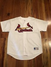 Jim Edmonds St Louis Cardinals Embroidered Jersey #15 Size Large