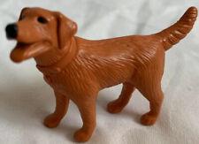 Brown puppy dog dollhouse miniature pet