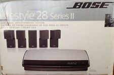 Bose Lifestyle 28 Series-Ii (White) 5.1 Channel Home Theater System w/ Box