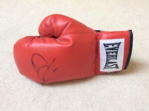 David Haye Signed Glove With COA