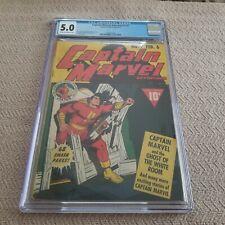 Captain Marvel Adventures #7 February 1942 CGC 5.0 Fawcett Publications