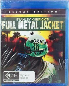 "FULL METAL JACKET (2008: BLU-RAY) BRAND NEW / SEALED ""REGION B"""