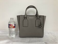 michael kors selby medium satchel Color- Pearl Grey $298