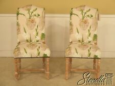 42310/42311: Pair FRENCH HERITAGE Louis XIV Country Upholstered Side Chairs ~NEW