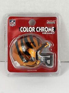 Cincinnati Bengals NFL FOOTBALL RIDDELL COLOR CHROME MICRO MINI HELMET