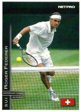 ROGER FEDERER 2003 NETPRO ROOKIE CARD #11! INTERNATIONAL SERIES SWITZERLAND!