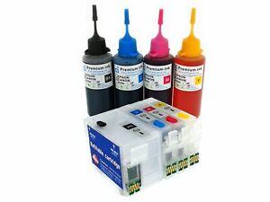 Refillable Ink Cartridge Kits for Epson WorkForce WF7710 WF7715 WF7720 NON OEM