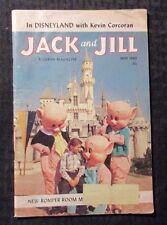 1960 May Jack And Jill Magazine Vg 4.0 In Disneyland w/ Jack Corcoran
