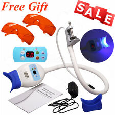 Dental Teeth Whitening Cold LED Light Lamp Bleaching Accelerator Hold+2 Goggles