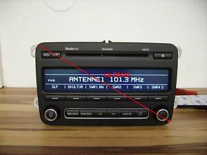 Autoradio CD MP3 SKODA Swing Roomster FABIA 5J Radio
