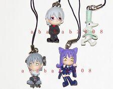 Bandai Soul Eater figure strap gashapon part 2 (4 strap figures)