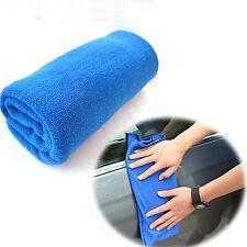 2 Pcs Blue Microfiber Towel Car Cleaning Wash Clean Cloth 70 X 30CM Super Sale
