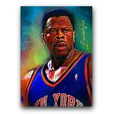 Patrick Ewing NY Knicks Limited Edition Art Card 14/25 Artist Signed
