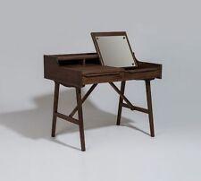 New George Nelson Style Vanity Table Desk Walnut Premium Quality