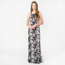 2016 NWT WOMENS ELEMENT HELIX MAXI DRESS $60 M black high neckline