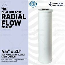 "New listing Rf-4520 Dual Radial Flow Cartridge Big Blue Size 4.5"" x 20"" Rfc20-Bb comparable"