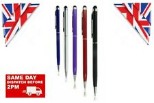 5 x  2 in 1 STYLUS INK BALL POINT PEN FOR IPHONE IPAD TABLET SAMSUNG HTC MOBILE