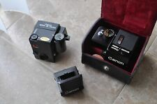 Canon Finder lot EE finder,Booster T for canon F1 camera
