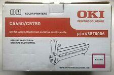 OKI GENUINE C5650 C5750 Magenta toner cartridge P/n 43870006